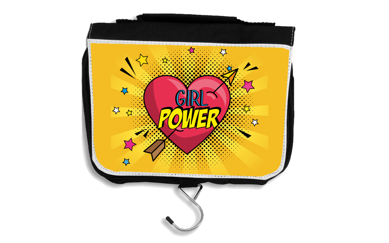 Bolsa de aseo escolar Girl Power